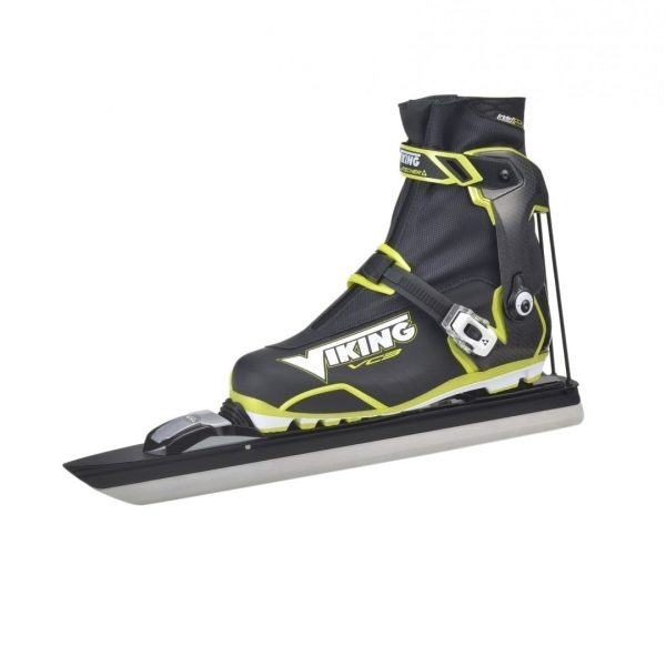 Side view of full set of Viking Cruiser VC3 skates