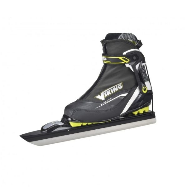 Side view of full set of Viking Cruiser VC7 skates
